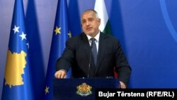 Protesters have demanded the resignation of Prime Minister Boyko Borissov