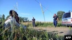 Migrantët nga Lindja e Mesme në kufirin me Hungarinë