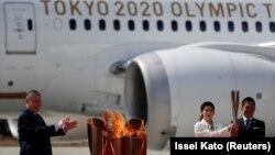 Олимпиада отун кабыл алуу салтанаты. 20-март, 2020-жыл.