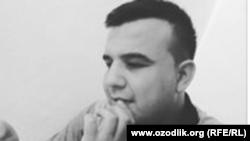 Блогер Нодирбек Хожиматов.