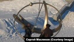 Возле новосибирского планетария