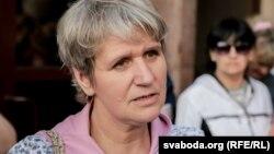Тацяна Канеўская, адна зь лідэраў руху «Маці 328», архіўнае фота