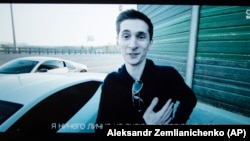Yevgeny Nikulin, pictured in a 2017 YouTube grab