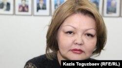 Адвокат Айман Умарова. Алматы, 3 марта 2016 года.