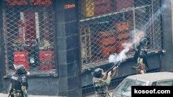 عکس مربوط به حوادث روز عاشورای تهران است