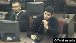 Mevlid Jasšrević tokom suđenja