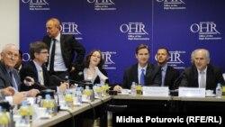 Sjednica Vijeća za provođenje mira u BiH, arhivska fotografija