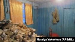 Заготовлені на зиму дрова