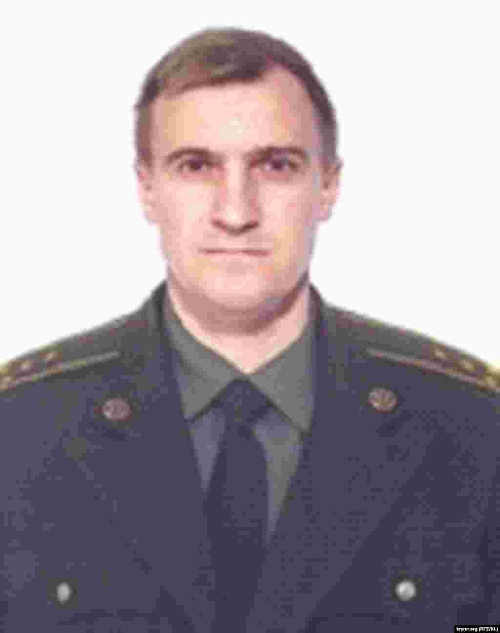 Игорь Проценко, экс-оперуполномоченный Черноморского районного отделения СБУ, капитан