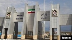 Iranian customs checkpoint on a border crossing with Iraq in Kermanshah province. File photo
