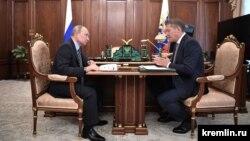 Владимир Путин һәм Радий Хәбиров