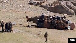 آرشیف، سقوط هلیکوپتر در ولایت میدان وردک