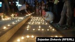 BiH: Građani odaju počast preminuloj bebi