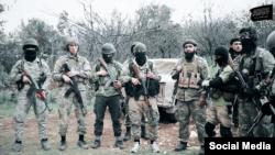 Исламшыл содырлардың пропагандалық видеосынан скриншот.