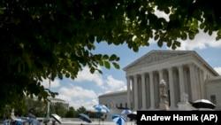 نمایی از دیوان عالی آمریکا در واشینگتن