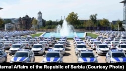 Vozila policije Srbije, ilustrativna fotografija