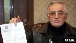 Rəhim Qazıyev dediklərini rəsmi sənədlərlə sübut etməyə hazırdır