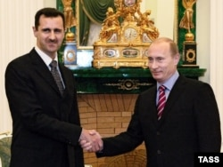 Башар Асад і Володимир Путін