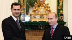 Башар Асад і Володимир Путін у Москві