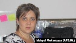 Татьяна Баклажанова. Алматы, 11 қыркүйек 2013 жыл.