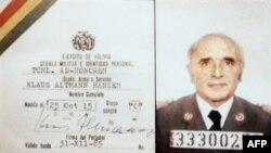 Buletinul de identitate regăsit în arhivele Ministerului de interne bolivian