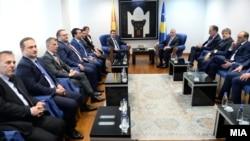 Премиерот Зоран Заев во официјална посета на Косово.