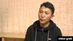 Багашар Маликулы, который просит политического убежища в Казахстане.