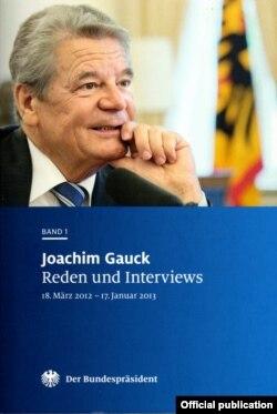 Alocuțiuni și interviuri de Joachim Gauk, vol. 1, 2013