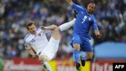 Италия-Словакия ойынынан көрініс. Йоханнесбург, 24 маусым 2010 жыл