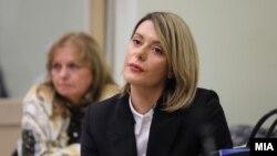 """Ана Камчева во Кривичниот суд сведочи за случајот """"Рекет"""""""