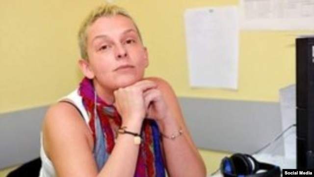 Russian journalist Maria Stolyarova (file photo)
