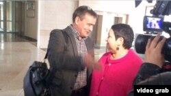 Ирек Мортазин Һәм Рушания Билгилдиева мәхкәмә утырышыннан соң