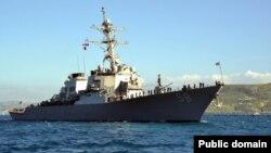Иллюстрационное фото: ракетный эсминец США «Арли Берк»