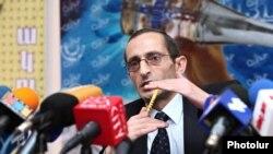 Григор Амалян, председатель Национальной комиссии по теле и радиовещанию Армении