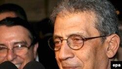 أمين عام جامعة الدول العربية عمرو موسى