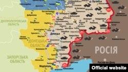 Сытуацыя ў ўзоне баявых дзеяньняў на Ўсходзе Ўкраіны