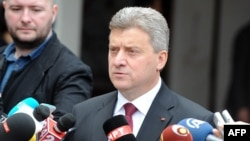 Presidenti i Maqedonisë, Gjorgje Ivanov.