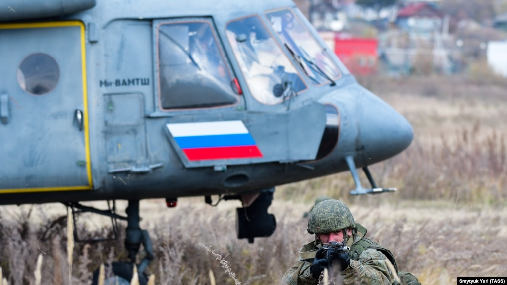Russia Starts Large-Scale Military Exercise Ahead Of NATO