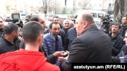 Armenia -- Dantists protest against new eHealth system, Gyumri, 05Mar2018