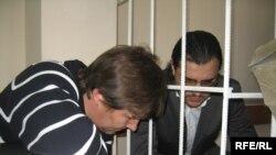 Gabriel Stati şi avocatul său Nagacevschi