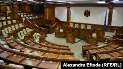 Зал для засідань парламенту Молдови
