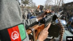 سرباز افغان.