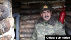 Әзербайжан қорғаныс министрі Закир Гасанов.