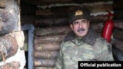 Министр обороны Азербайджана Закир Гасанов.