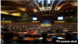 France -- Council of Europe, PACE general view, 05Oct2012