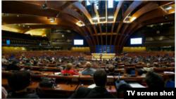 Парламентская ассамблея Совета Европы, общий вид. Франция, 5 октября 2012 года.