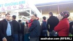 Et dükany, Aşgabat