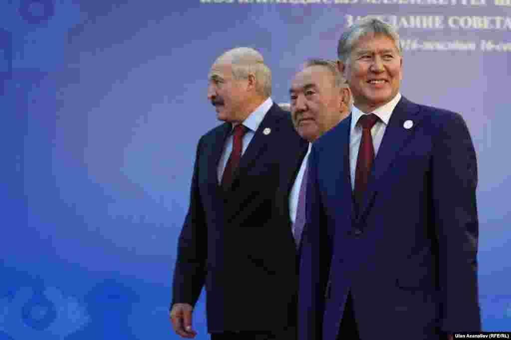 Kyrgyzstan Bishkek CIS country leaders September 16, 2016