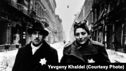 Снимок, сделанный после освобождения будапештского гетто