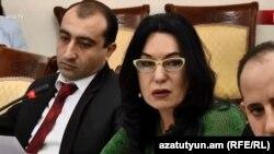 Заседание парламентской комиссии по государственно-правовым вопросам, Ереван, 29 ноября 2019 г.